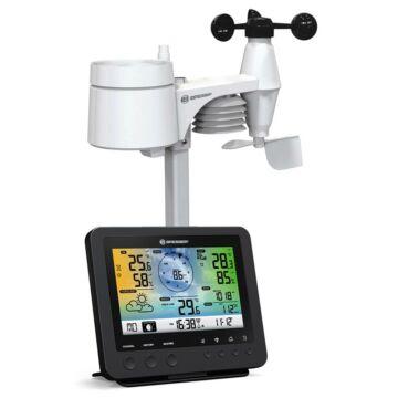 Bresser 5 az 1-ben Wi-fi-kompatibilis színes kijelzős időjárás állomás 73261