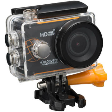 Bresser Discovery Adventures Expedition Full HD 140° Wi-Fi Action kamera 73390
