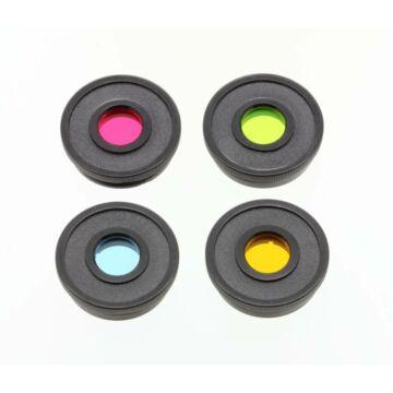 """Bresser 1,25""""-os alapvető színes szűrőkészlet (piros, zöld, kék, sárga) 74167"""