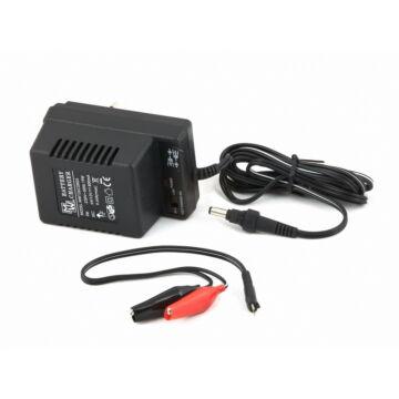 Akkumulátor töltő 800 mAh, 2V/6V/12V AkkuT1200