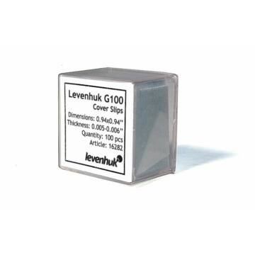 Levenhuk G100 fedőlemezek (100 darab)