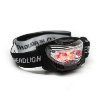 Fejlámpa (fehér és vörös fényű LED) Headlamprw
