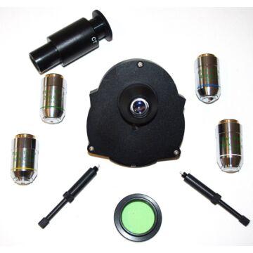 Fáziskontraszt-szett (10PH, 20PH, 40PH, 100PH) LIS mikroszkóphoz LIS-Phset