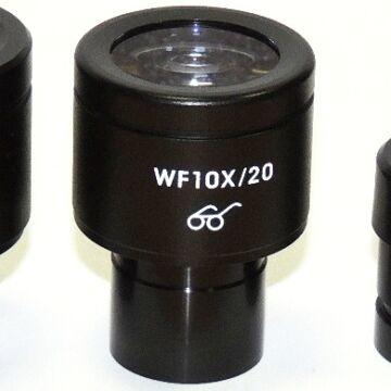 WF 10x / 20mm mikroszkóp okulár (23,2mm - Long Eye Relief) Mik10xb-LER