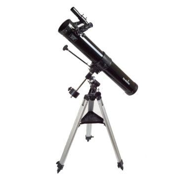 """76/900 SkyWatcher Astrolux-3"""" Newton EQ1 mechanikán"""