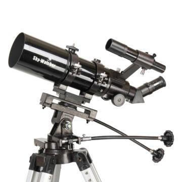 80/400 SkyWatcher Startravel-80 refraktor AZ3 állványon