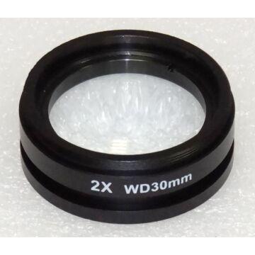 2,0x előtétlencse STM7/STM8 és IND-C2/3 mikroszkópokhoz. StereoB-20