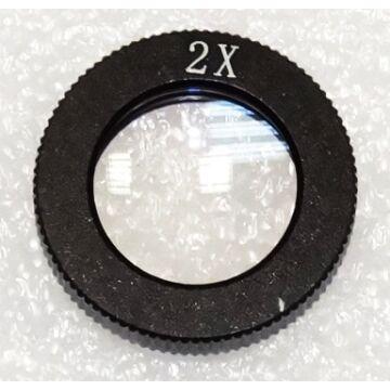 2,0x előtétlencse INDc1f, INDc1d és INDc1t mikroszkópokhoz StereoB-20ind1
