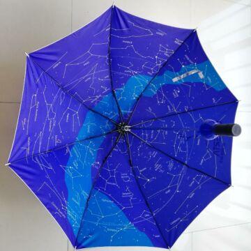 Esernyő/Napernyő, csillagtérképpel, UV-reflektáló külső felülettel UmbrellaSkyUV