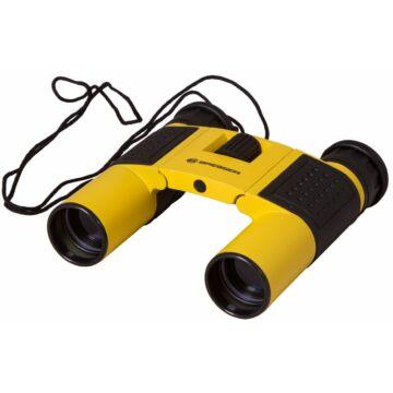 Bresser Topas 10x25 kétszemes távcső, sárga 69356