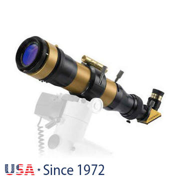 Coronado SolarMax II 60 mm Double Stack napteleszkóp RichView rendszerrel és BF15 szűrővel
