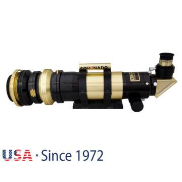 Coronado SolarMax III 70 mm Double Stack napteleszkóp RichView rendszerrel és BF10 szűrővel