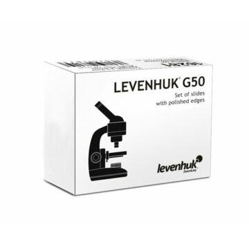 Levenhuk G50 üres tárgylemezek (50 darab)