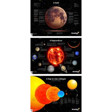 Levenhuk űrposzter-csomag 70267
