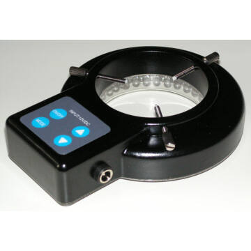 BTC LED-es gyűrűs megvilágítás változtatható nagyítású sztereó mikroszkópokhoz (fóliázott nyomógombokkal)