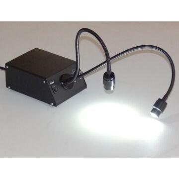 LED hidegfény dupla hattyúnyakkal