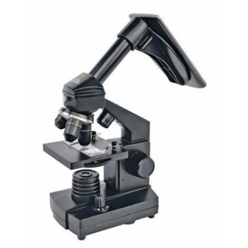 Bresser National Geographic 40x–1280x mikroszkóp okostelefon-adapterrel