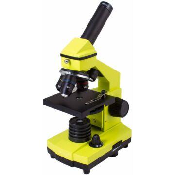 Levenhuk Rainbow 2L PLUS Lime mikroszkóp 70232