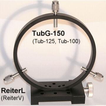 Vezetőtávcső gyűrűpár kb. 140mm tubusátmérőig tubG-150