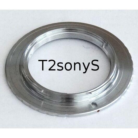 T2-Sony/Minolta bajonett adapter (rövid)