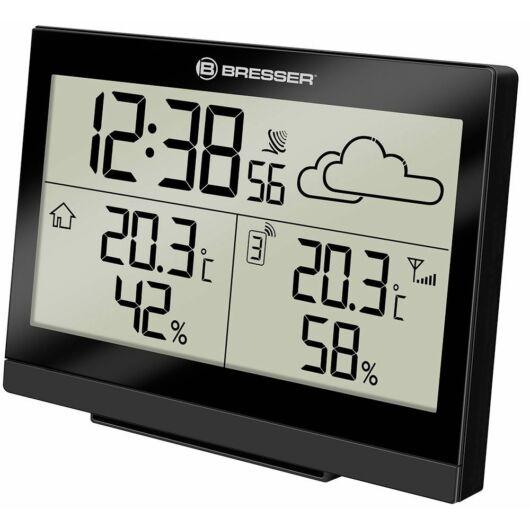 Bresser TemeoTrend LG RC időjárás állomás, fekete 73266
