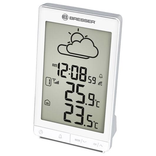 Bresser TemeoTrend STX RC időjárás állomás, fehér 73271