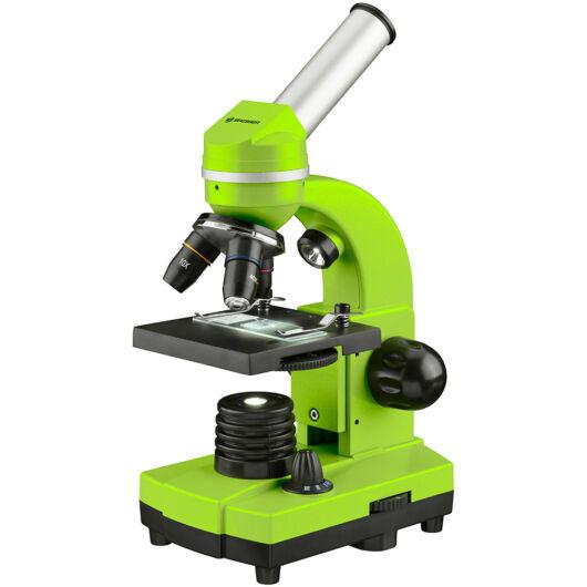 Bresser Junior Biolux SEL 40–1600x mikroszkóp, zöld 74319