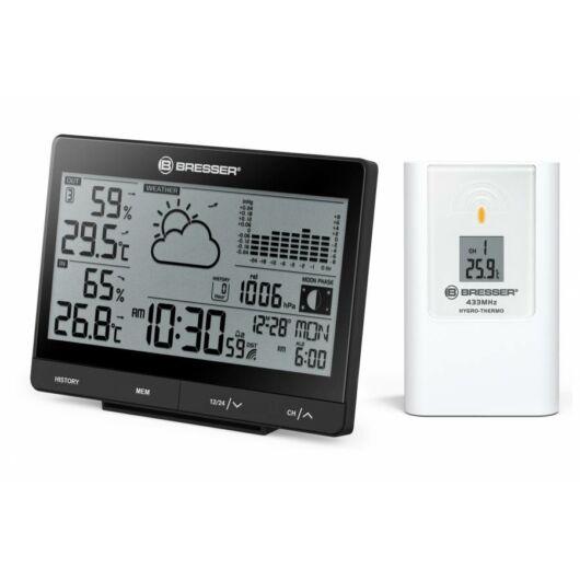 Bresser Tendence WSX időjárásállomás 24 órás barométer nyomásgrafikonnal 74577