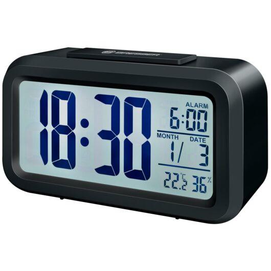 Bresser MyTime Duo LCD ébresztőóra, fekete 74601