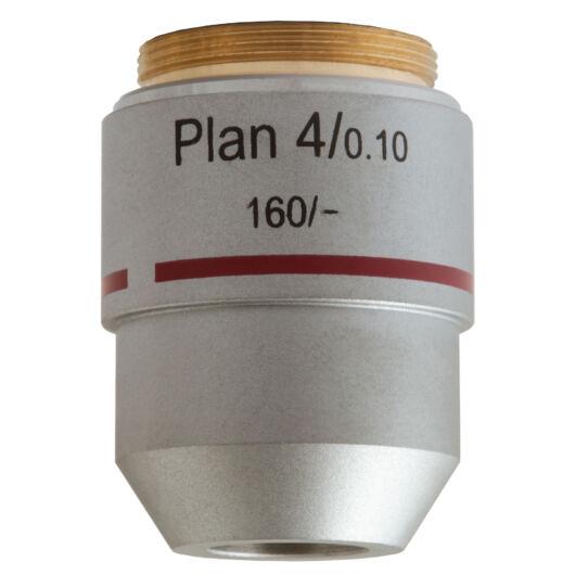 Levenhuk MED 4x plan-akromatikus objektív 76068