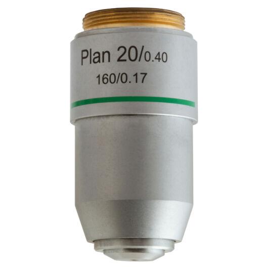 Levenhuk MED 20x plan-akromatikus objektív 76070