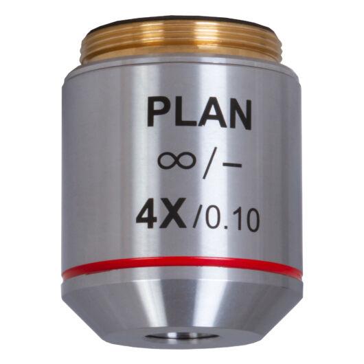 Levenhuk MED 4x végtelen-plan-akromatikus objektív 76074
