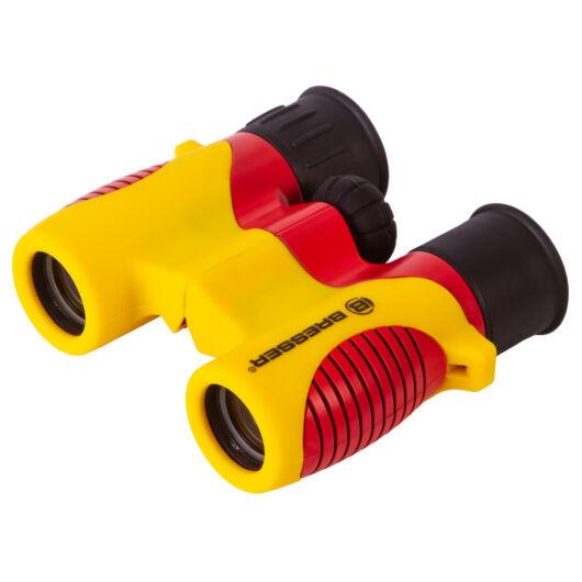 Bresser Junior 6x21 kétszemes távcső gyermekek részére, sárga 76924