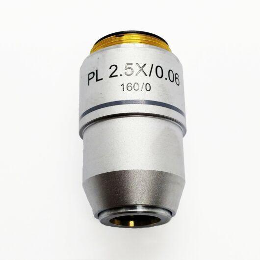 Planobjektív (2,5x, 160mm) Aplan2x