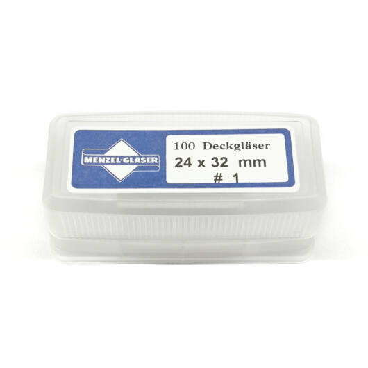 Preparátum fedőlap 24x32mm (100 db) CoverD24x32EU