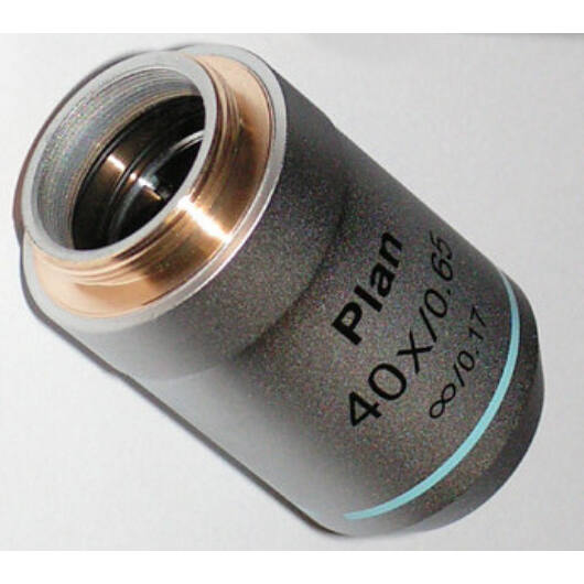 Planobjektív (40x, infinity) I-plan40x