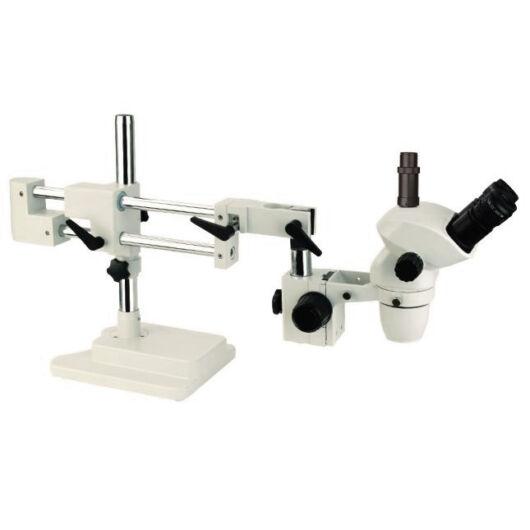 STM45t-pro zoom sztereomikroszkóp (0,67-4,5x) ipari állványon INDSTM45tpro