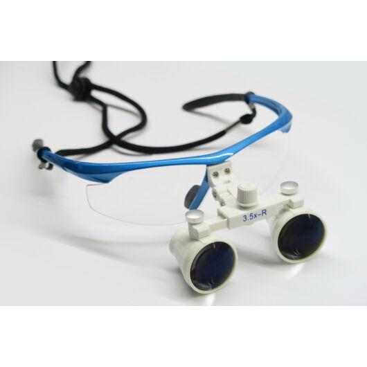 Orvos-technikai szemüveg 3,5x nagyítással MedBr35x