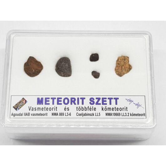 Meteorit szett gyűjtőknek MeteorSet