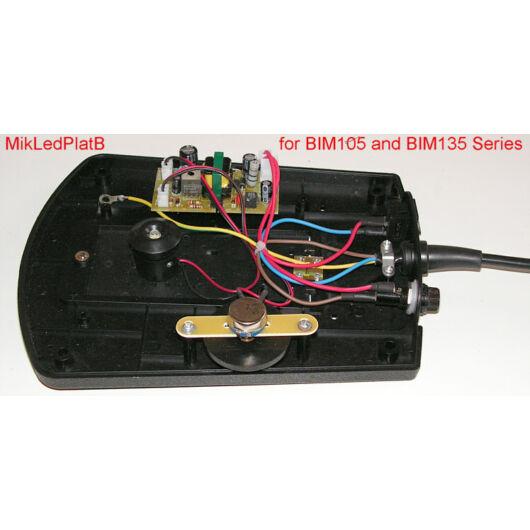 Komplett LED-megvilágítás (BIM 105/135-höz) MikLedPlatB