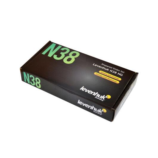 Levenhuk N38 NG előkészített tárgylemezkészlet 29278