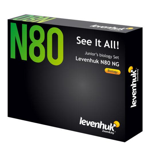 """Levenhuk N80 NG """"Láss mindent!"""" tárgylemezkészlet 66685"""