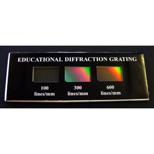 Demonstrációs diffrakciós rács TE214