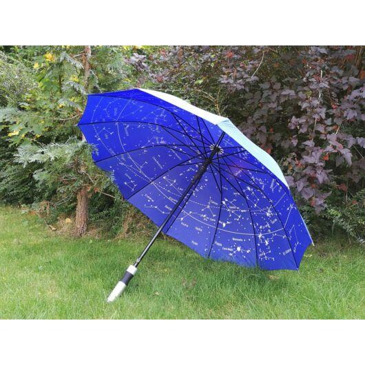 Esernyő, csillagképes belsővel, hosszú nyéllel UmbrellaL