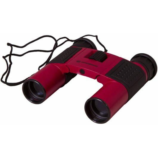 Bresser Topas 10x25 kétszemes távcső, piros 69354