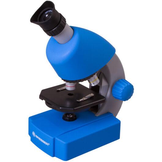 Bresser Junior 40x-640x mikroszkóp, azúr 70123