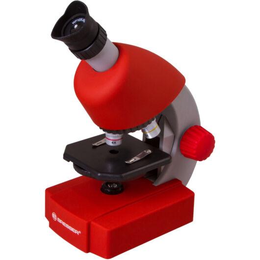 Bresser Junior 40x-640x mikroszkóp, piros 70122