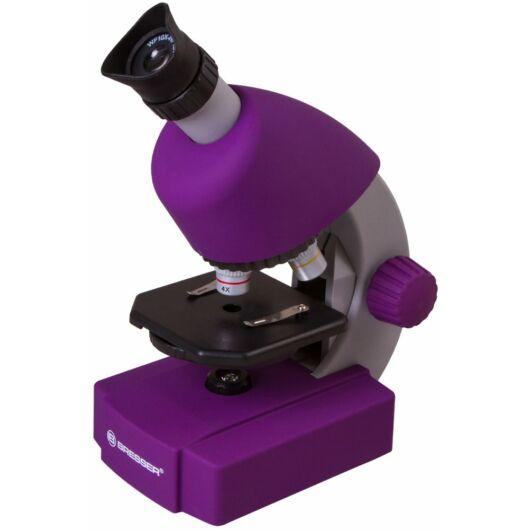 Bresser Junior 40x-640x mikroszkóp, lila 70121