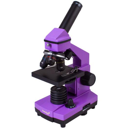 Levenhuk Rainbow 2L PLUS Amethyst / Ametiszt mikroszkóp 70230