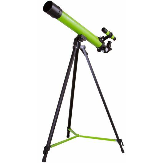 Bresser Junior Space Explorer 45/600 AZ teleszkóp, zöld 70130